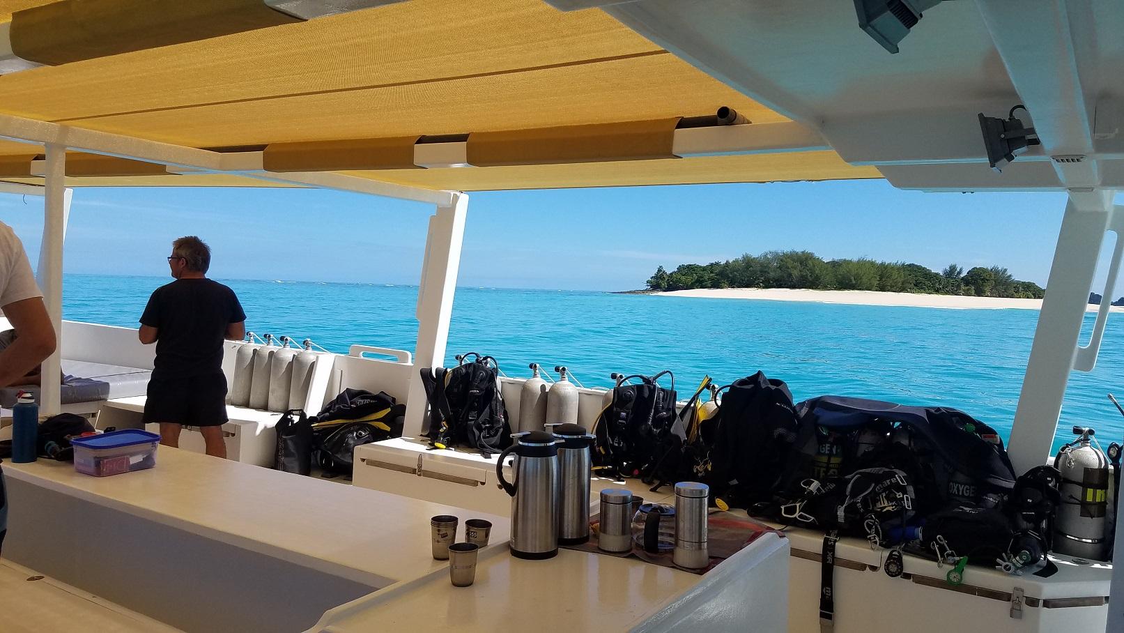 Plongée à Madagascar sur l'ile de Nosy Be